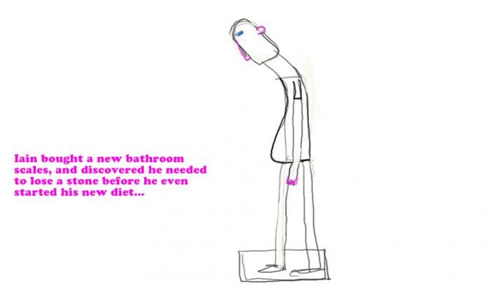 Dieting cartoon