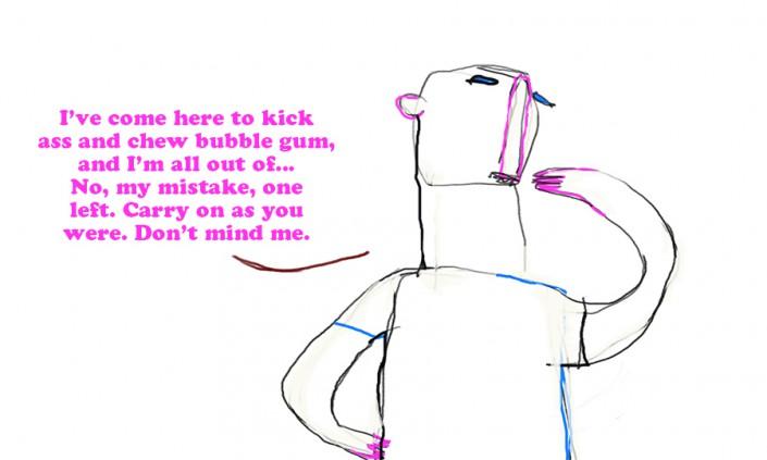 chew-bubble-gum-kick-ass