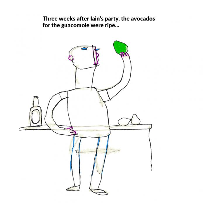 guacomole avocado