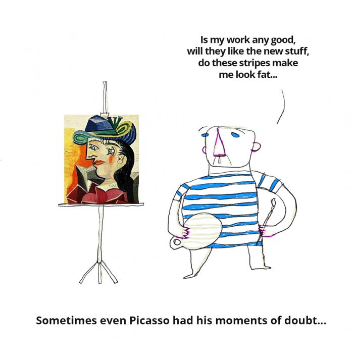 Picasso doubts